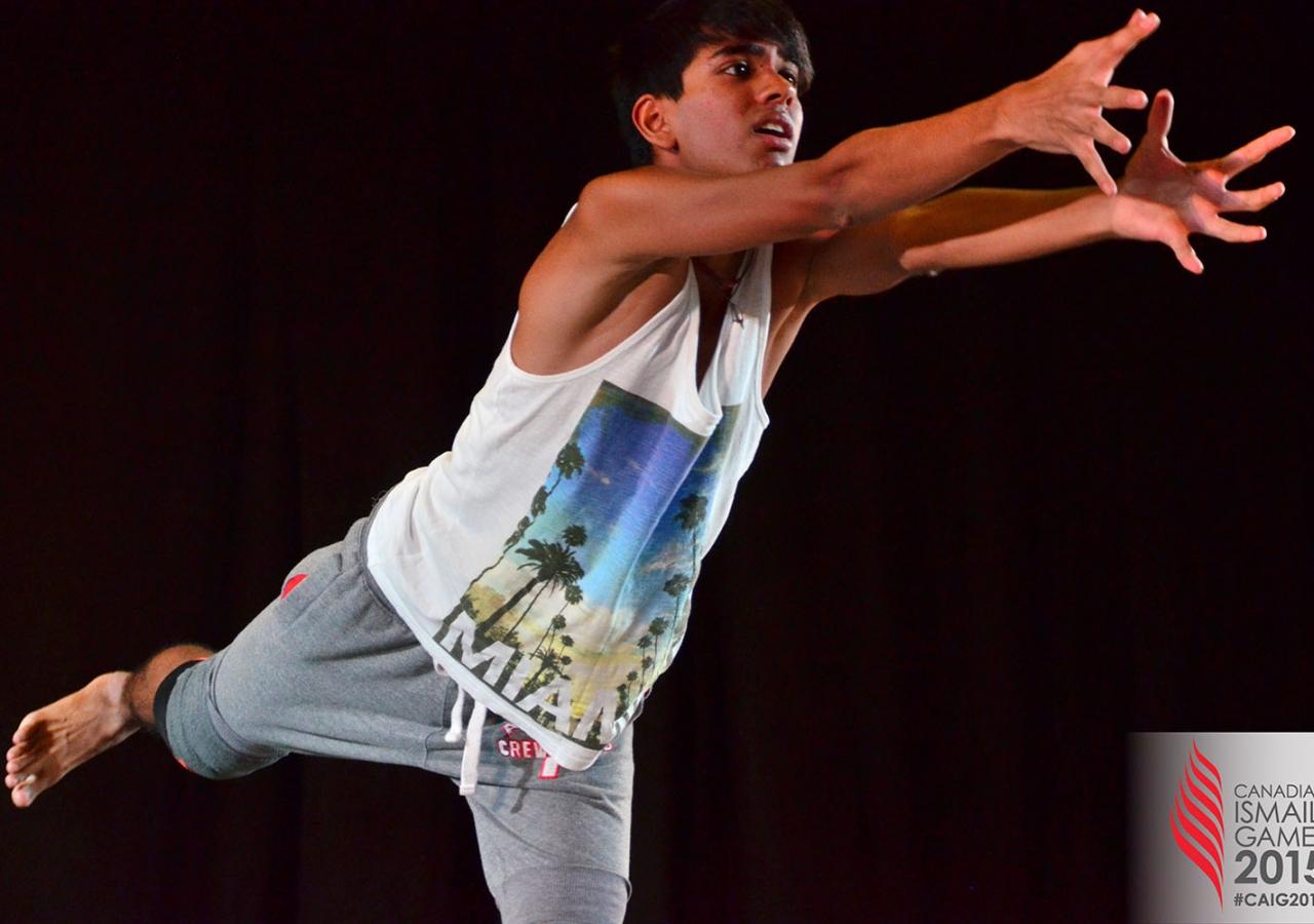 Dancer Umair Shivji gives a golden performance. Rukhsar Jaffer