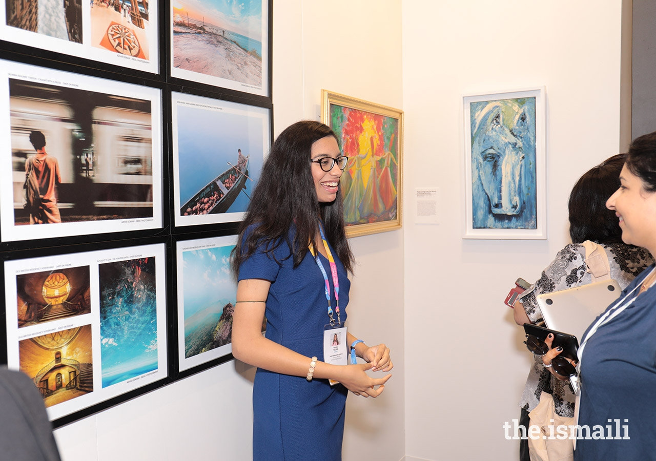 Photography and paintings were some of the many types of art on display at the Jubilee Arts International Art Gallery.