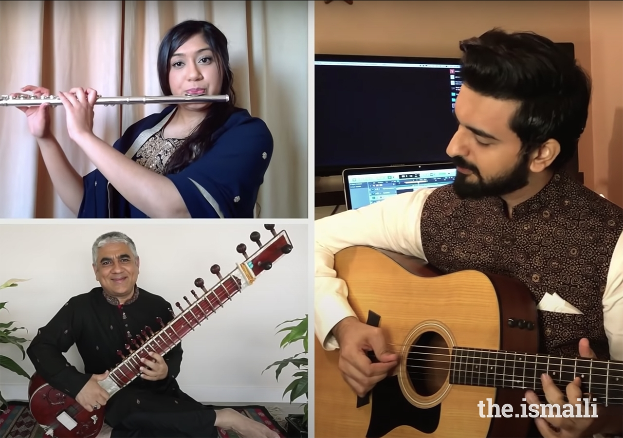 Spearheaded by the Ismaili Council for the Far East, the song Mawla Mera Ishq Tu showcases the collaboration between composer Karim Barolia (right) and 62 global artists commissioned by The Ismaili Sounds.