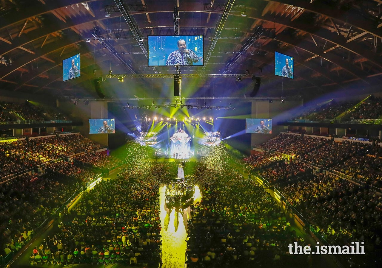 The atmosphere was electric during the Sufi Voyage at the Altice Arena in Lisbon.