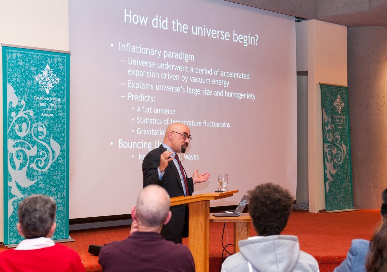 Professor Spergel discusses the beginnings of the universe