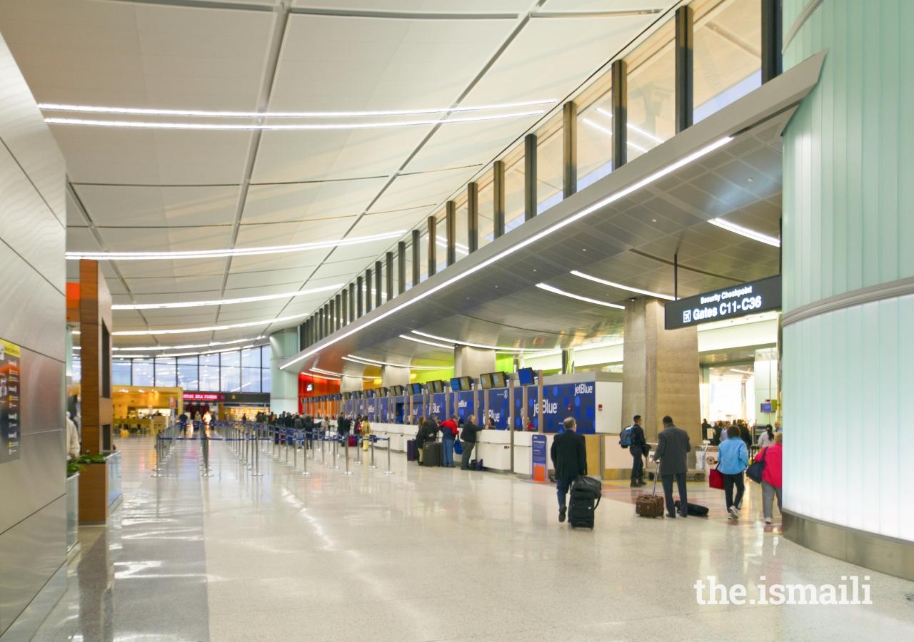 Terminal C, Boston Logan International Airport, Massachusetts. Project Team member, Khalil Pirani.