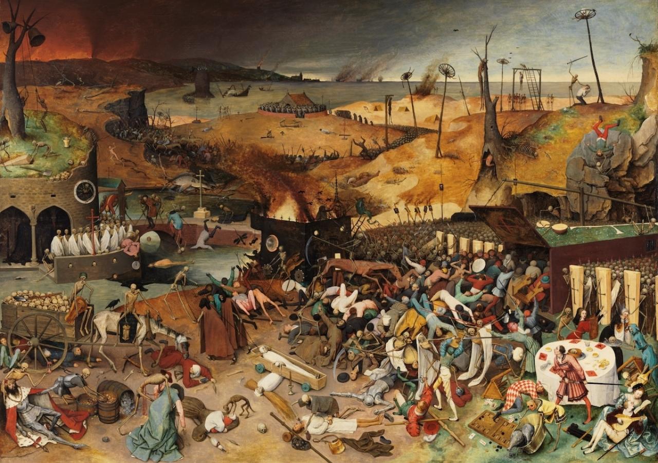 The Triumph of Death by Pieter Bruegel the Elder.