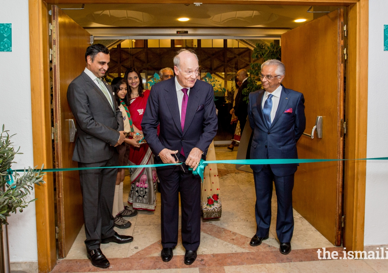 Prince Amyn inaugurates the Ethics in Action exhibition in Lisbon