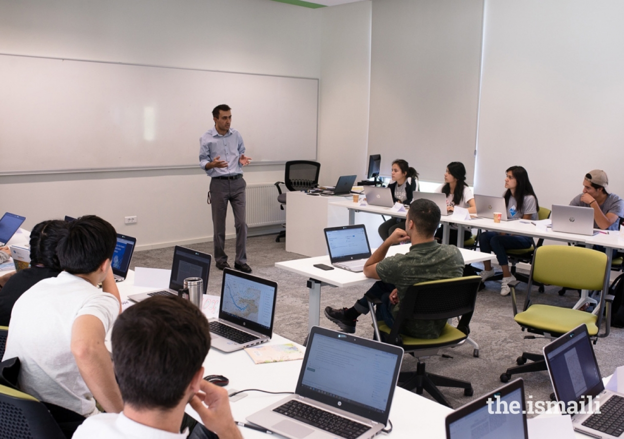 Classrooms at UCA's campuses are designed for flexible study space.