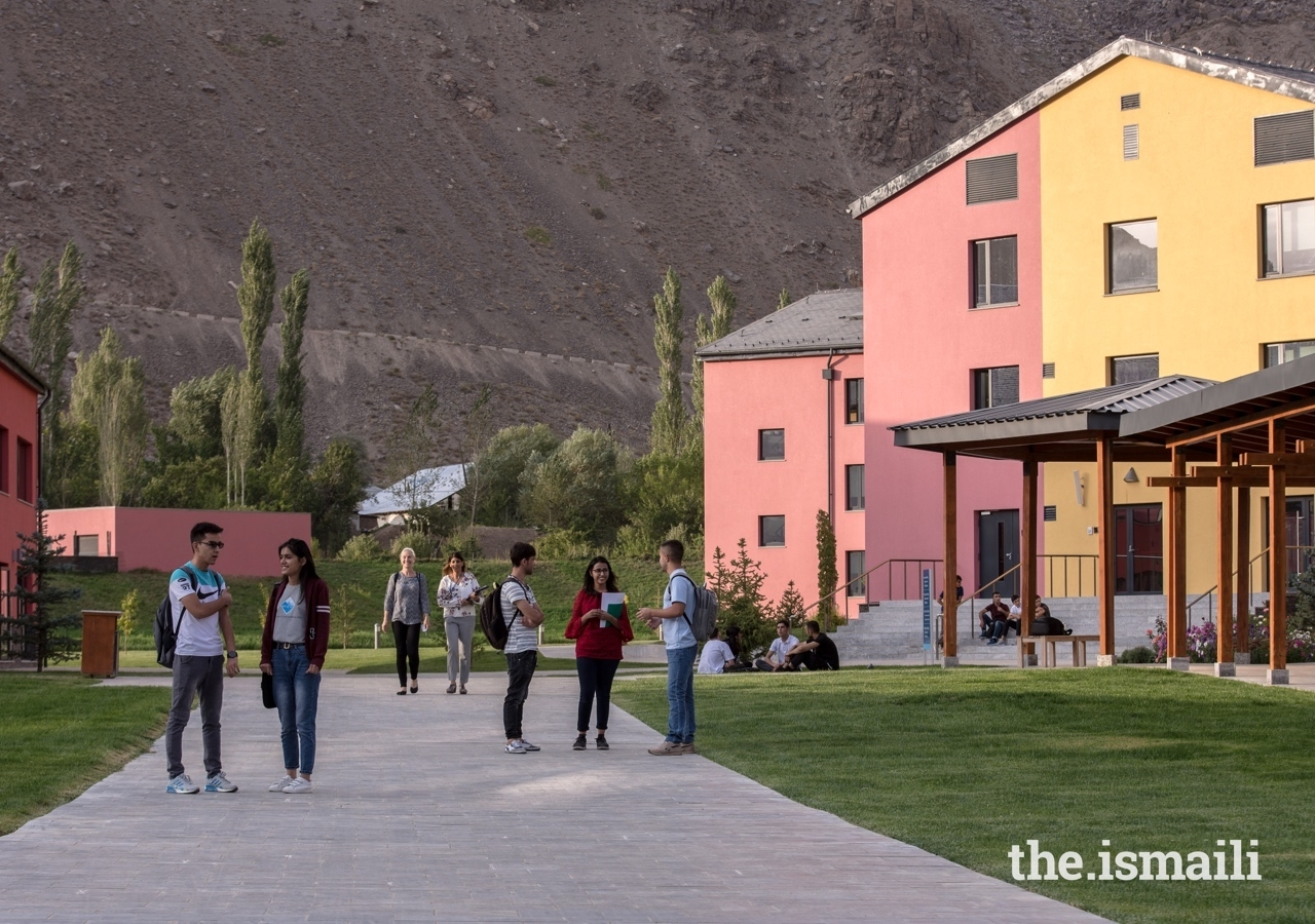 The University of Central Asia's Khorog campus was inaugurated in September 2018, and offers students an international standard university experience