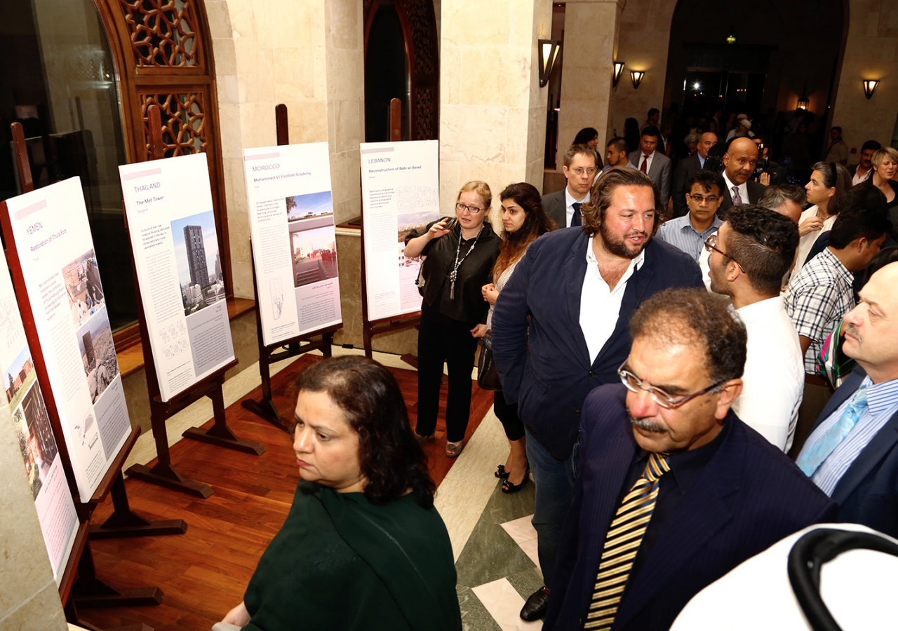 Guests attend a suhour at the Ismaili Centre Dubai that was jointly organised by the Aga Khan Trust for Culture and the Canadian Embassy to the UAE. Ismaili Council for the UAE