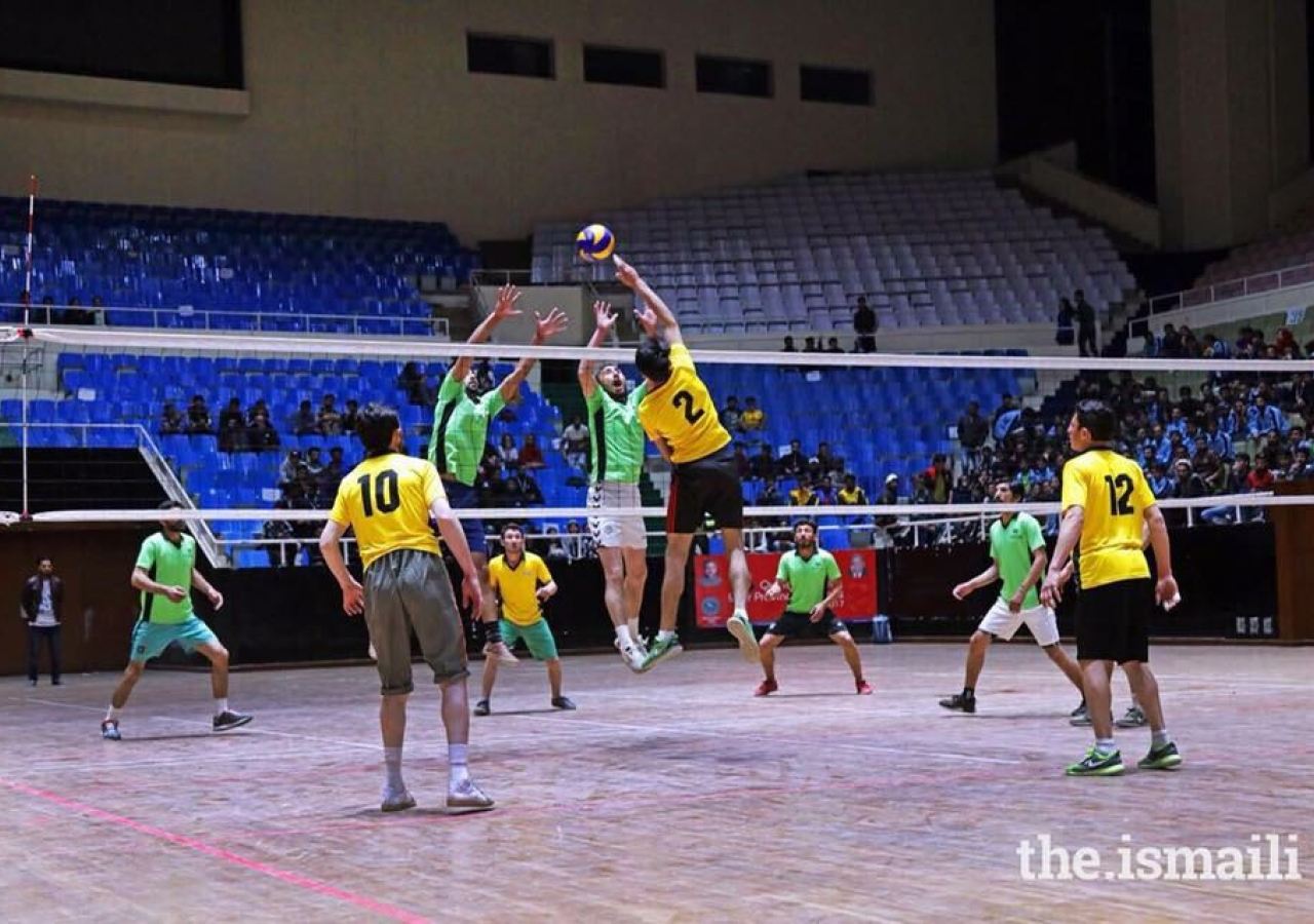 Volleyball at the DJSF National Games