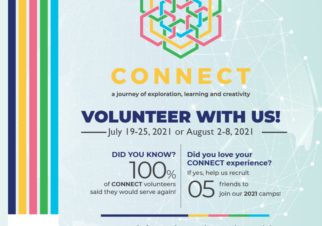 Recruit 5 Friends to Volunteer with Us!