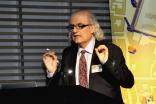 Professor Nasser Rabbat speaking at the Royal Ontario Museum on 14 July 2014. Ibrahim Meru