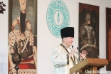 Mawlana Hazar Imam addresses leaders of the Jamat gathered at Aiglemont for the inauguration of the Diamond Jubilee.