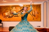 San'at Mahmudova treats the audience to classic dance styles from Central Asia in Threads Along the Silk Road. Safaraj Khorasi