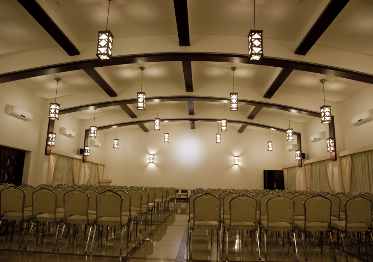 The Social Hall provides a place for hosting seminars, lectures, and cultural and educational programmes.