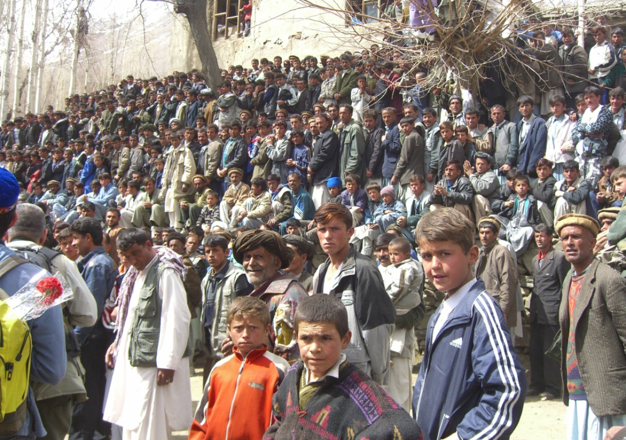 Over 10 000 people traveled from different parts of Badakhshan province in Afghanistan to attend the concert.