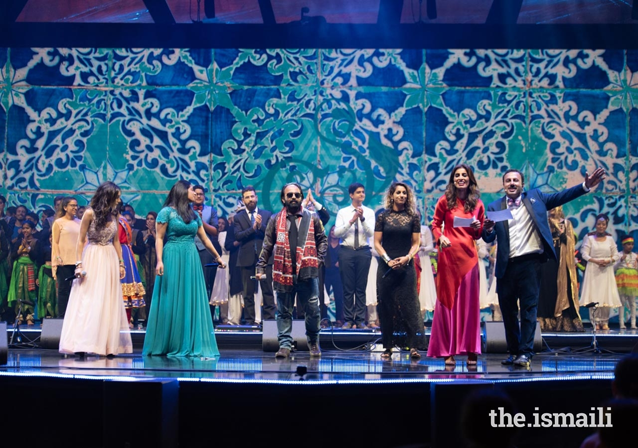 International Talent Showcase participants performed the official Jubilee Arts song at the finale of the event.