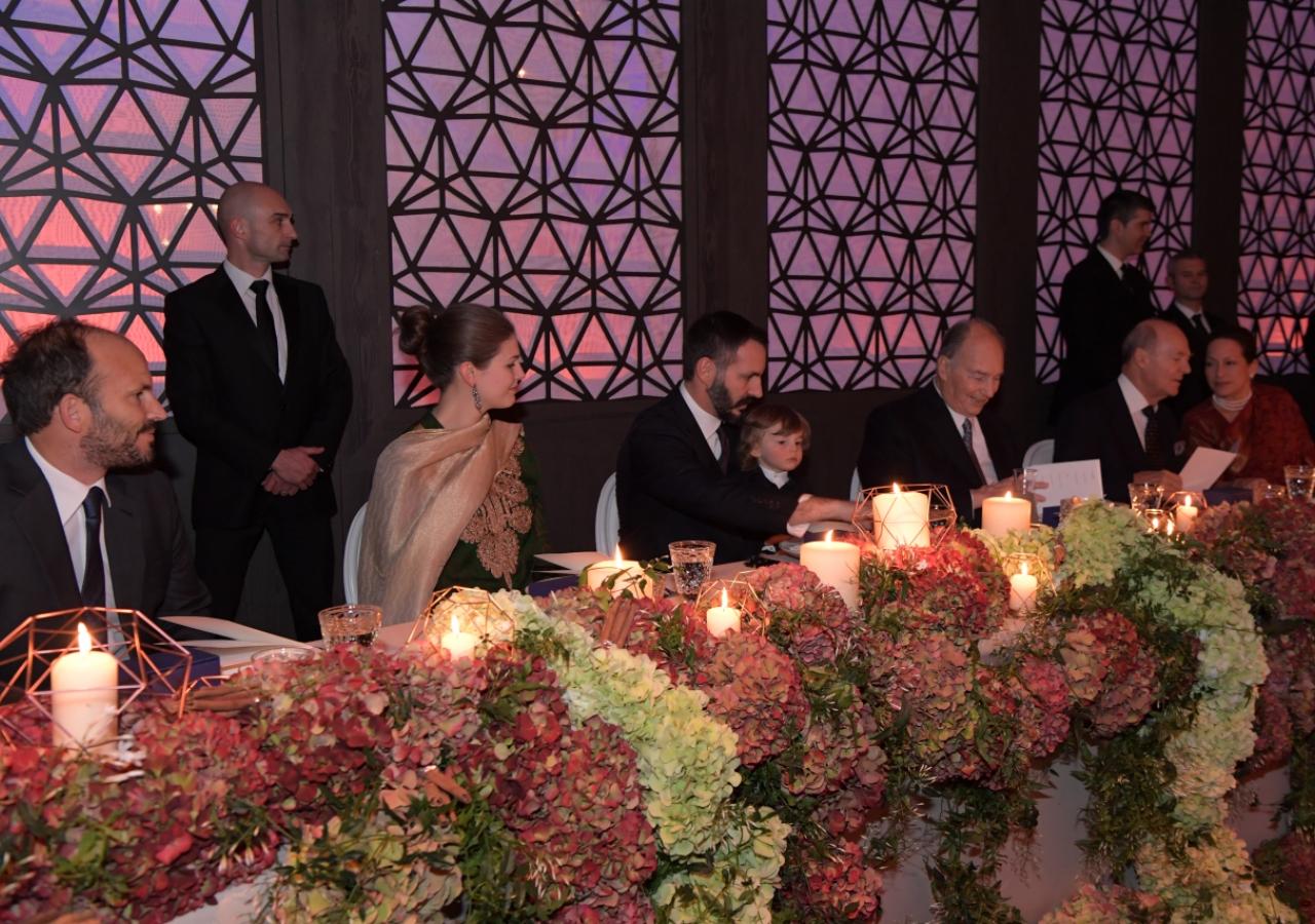 Mawlana Hazar Imam with members of his family. Photo: Zahur Ramji