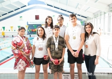 Participants from all over Europe competed in the Swimming competition at the European Sports Festival 2019.