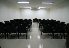 Seminar room at the Dhaka Ismaili Jamatkhana and Centre.