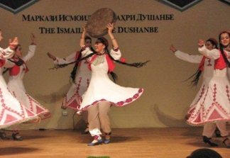 Traditional dance performances were part of the Navroz festivities at the Ismaili Centre, Dushanbe.