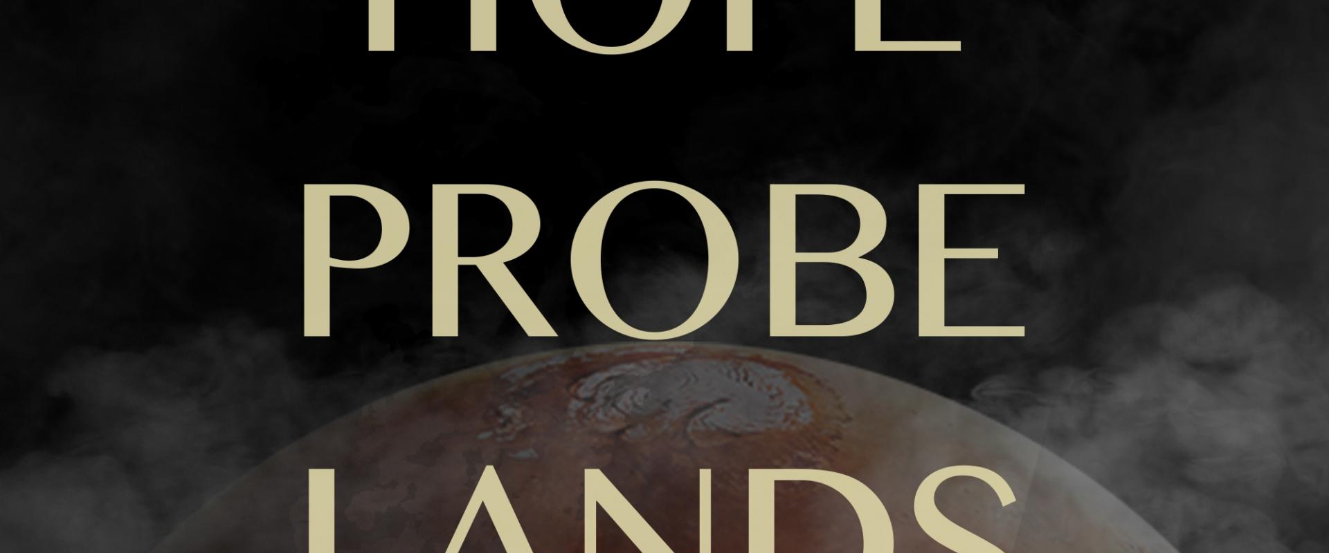 Hope Probe Mission to Mars