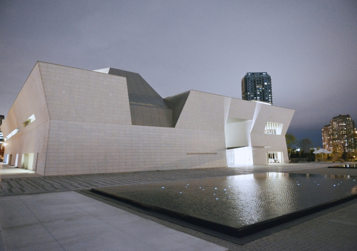 The Aga Khan Museum in Toronto, which aims to combat misperceptions of Islam and Muslim civilizations