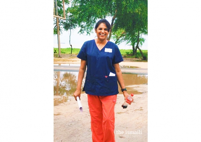 Nurse Fauzia Kermally from San Jose, California.
