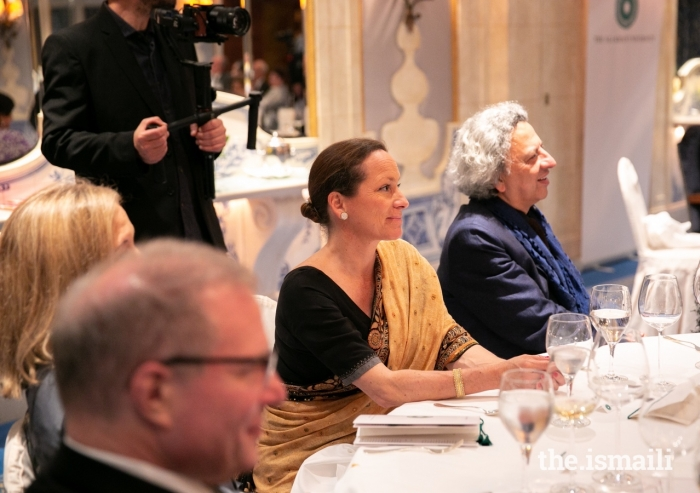 Princess Zahra attended a special event to celebrate partnerships between the Aga Khan University and Portuguese institutions of Higher Education.