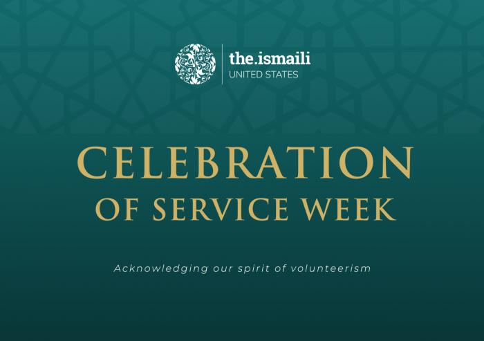 Celebration of Service Week.