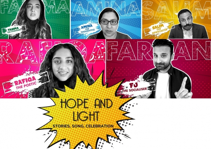 Hope and Light tells the story of a group of Ismaili volunteers on a quest to discover meaning through music.