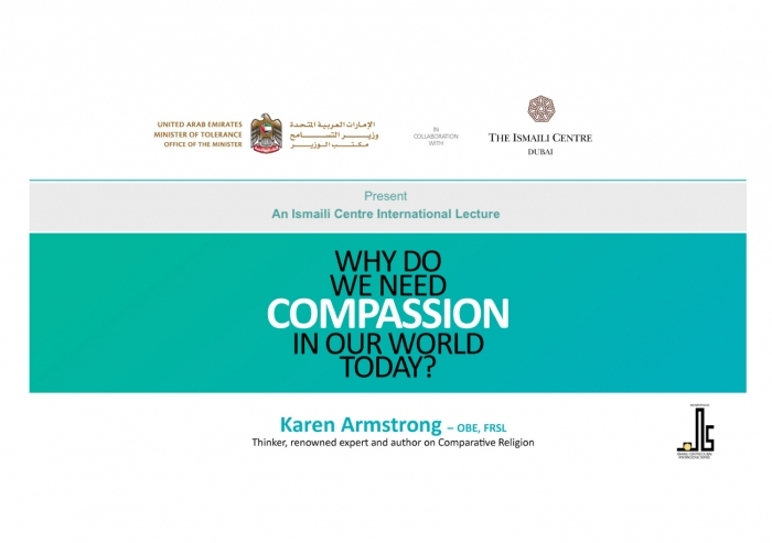 Dr Karen Armstrong will speak about the role of compassion in our world today.