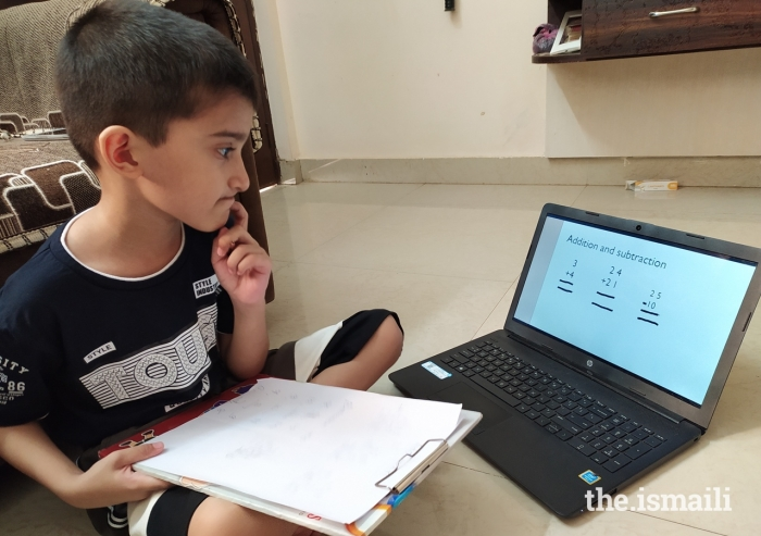 Ismaili students across India have been participating in a Virtual Learning Programme, providing quality education, wholesome learning, and periodic assessment.