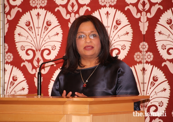 "Professor Mona Siddiqui delivers the annual lecture commemorating Milad-un-Nabi on the topic of ""Hospitality, Global Conflicts and Migration: From Divine Imperative to Social Conscience."""
