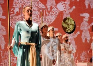 Ali to Karim scene: A Fatimid Pageant in Cairo.
