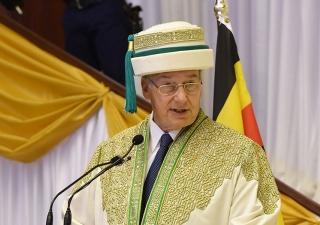 """At the graduation of 49 students from the School of Nursing and Midwifery and eight students from the Institute for Educational Development in Uganda, Mawlana Hazar Imam spoke of the """"multiplier effect"""" that they would have in building civil society."""