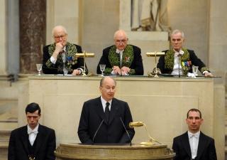Mawlana Hazar Imam delivers an eulogy in memory of his predecessor, the Japanese architect Kenzo Tange.