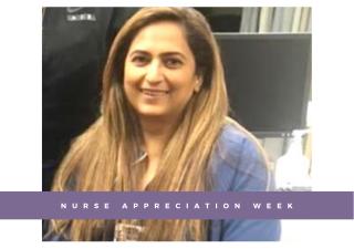 Zeenat Jiwani from Atlanta, who works as an administrative nursing supervisor at Emory Decatur Healthcare.