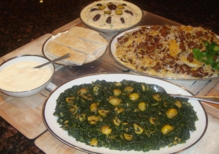 The use of fresh herbs, spices and dried fruits gives Persian dishes a distinct essence, texture and fragrance.