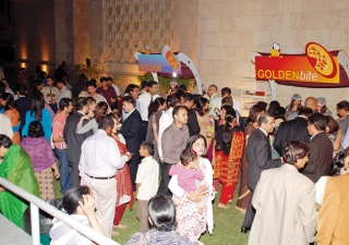 Members of the Jamat had an opportunity to try a variety of dishes at the at a Golden Alliance food mela, held at the Ismaili Centre, Dubai in April 2010.
