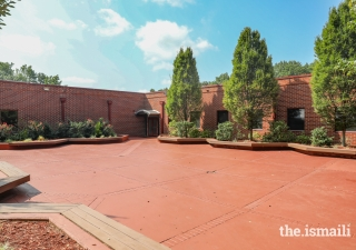 Courtyard of the Ismaili Jamatkhana, Atlanta