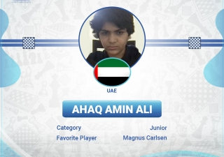 The Ismaili eChess Cup is an initiative of the Ismaili eSports & Fitness, under the umbrella of the Jubilee Games. The National Tournament for UAE and the Region was held on 28 May 2021 and there were 18 athletes who qualified for the Block Tournament. These athletes will now compete against the qualifiers from Australia/New Zealand, Bangladesh, Far East, India and Pakistan.
