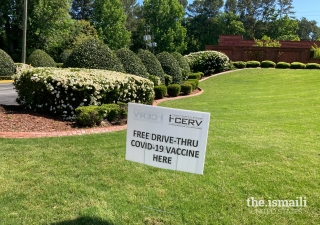 Ismaili CIVIC (formerly known as I-CERV) organized a series of COVID-19 vaccination drives at the Ismaili Jamatkhana in Atlanta to help vaccinate the greater community and bridge disparities in vaccination rates among minorities.