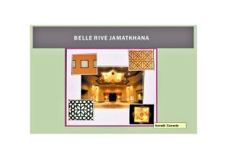 The Belle Rive Jamatkhana, Edmonton, Canada
