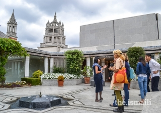 The Ismaili Centre London participated in the annual Open Garden Squares weekend, inviting the public to discover and enjoy the Centre's beautiful garden.