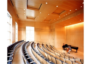 Music Building, Kenyon College, Ohio. Project Team member, Khalil Pirani.