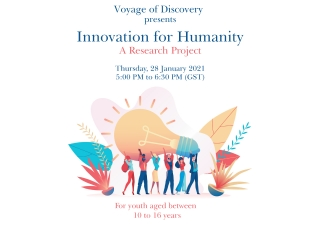 Voyage of Discovery: Innovation For Humanity