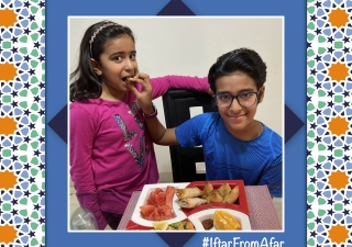 The #IftarFromAfar initiative celebrates the tradition of sharing meals with loved ones during the holy month of Ramadan. Although physically distant, the youth of our community showcase how their spirit of unity remains unshaken.