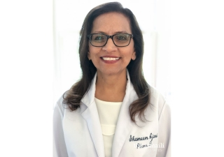 Dr. Shameem Ajani a pharmacist who currently manages the safety of her technicians and patients.