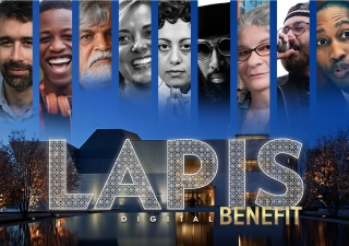 This year, the Lapis Benefit will be a free-to-attend online celebration aiming to reconnect and reinvigorate communities through the arts.