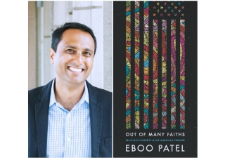 Dr. Eboo Patel, Founder and President of IFYC, Rhodes Scholar, and author.