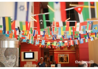 The United Nations of Play event brought together children and families to the Children's Museum of Atlanta to learn about diverse cultures and traditions from around the world.